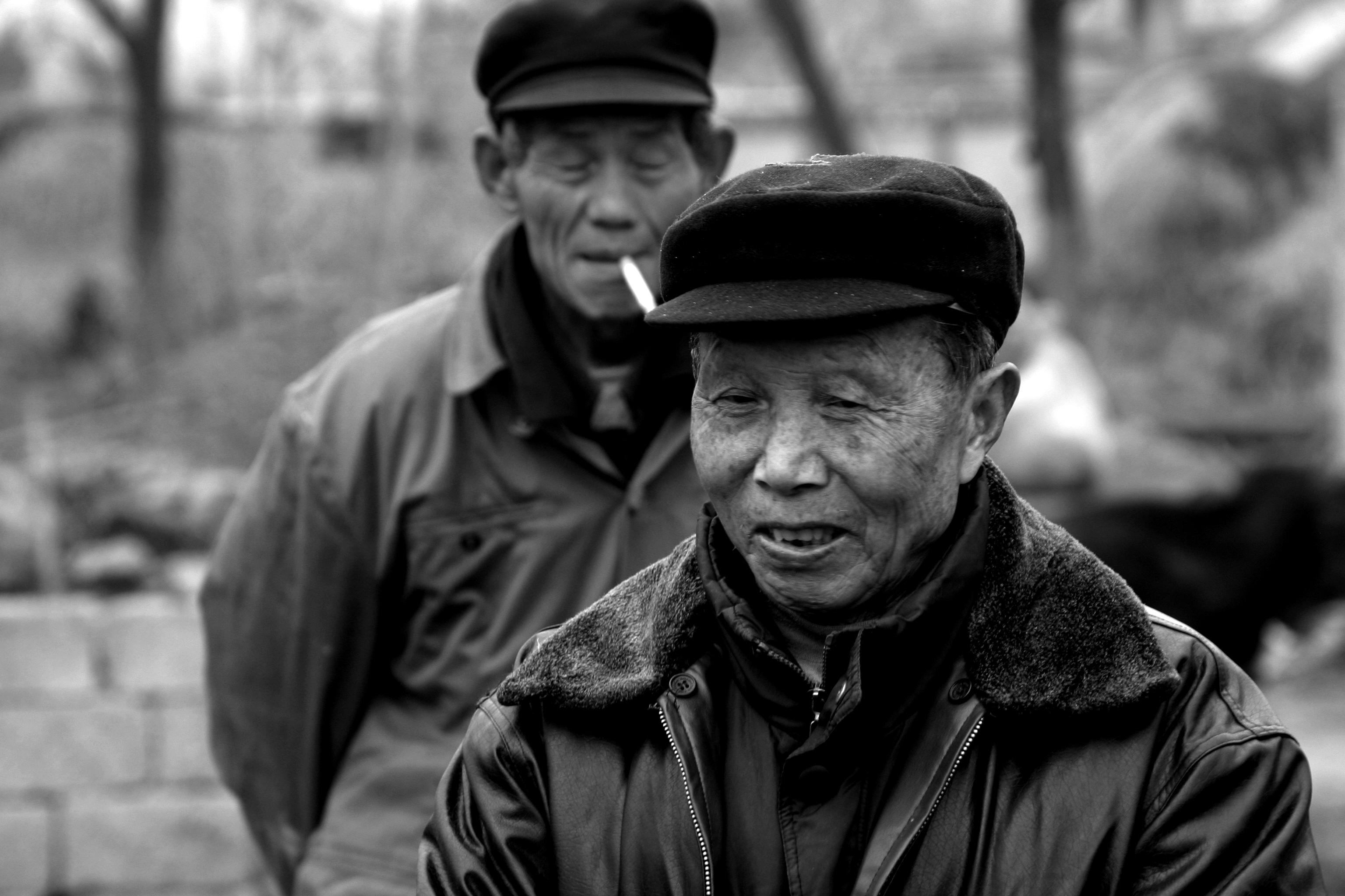 Farmers in Anhui Province
